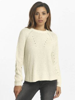 Vero Moda Swetry vmEcho bialy