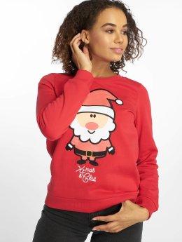 Vero Moda Swetry vmCute Xmas  czerwony