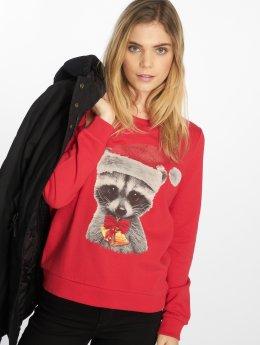 Vero Moda Swetry vmXmas czerwony