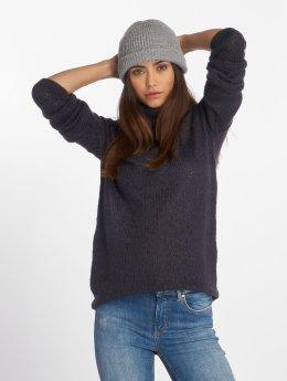Vero Moda Swetry vmLisa Jive Knit niebieski