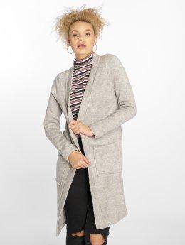Vero Moda Swetry rozpinane vmYlda  szary