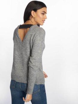 Vero Moda Swetry vmRana  szary