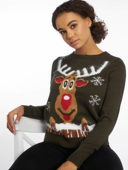 Vero Moda Swetry vmRudolph  zielony