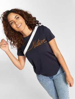 Vero Moda T-shirt vmAnn Nature blå