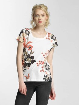 Vero Moda T-Shirt vmBella Adventures blanc