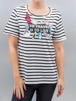 Vero Moda T-Shirt vmWilly Patch blanc