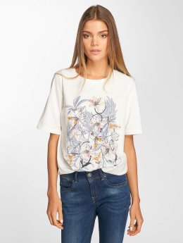 Vero Moda T-Shirt vmVacation blanc