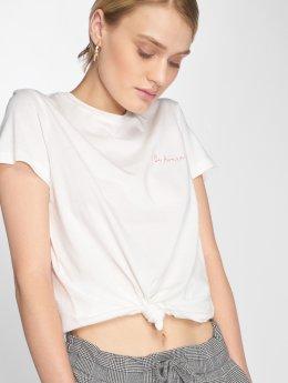 Vero Moda T-Shirt vmEdin blanc
