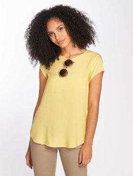 Vero Moda t-shirt vmBoca geel