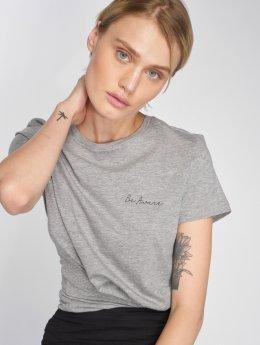 Vero Moda T-Shirt vmEdin grau