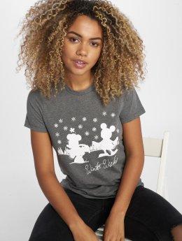 Vero Moda T-Shirt vmMagic Xmas grau