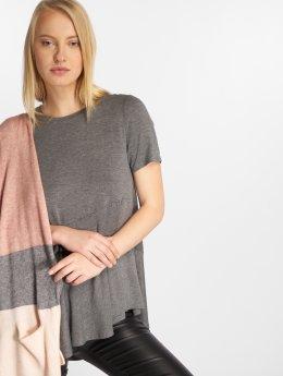Vero Moda t-shirt vmElise  grijs