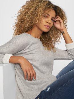 Vero Moda T-Shirt manches longues vmTrini gris