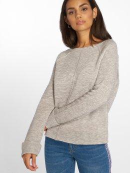 Vero Moda T-Shirt manches longues vmYlda Boxy gris
