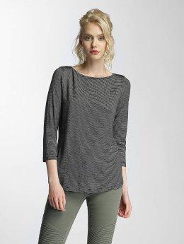 Vero Moda T-Shirt manches longues vmYanny 3/4 Boatneck noir