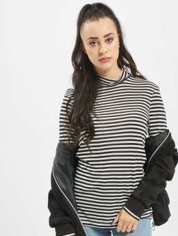 Vero Moda T-Shirt manches longues vmVita Stripe noir