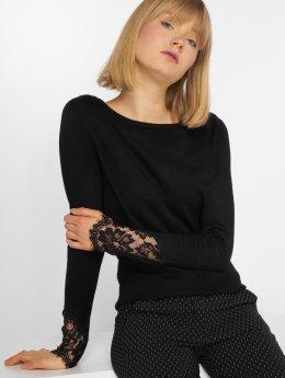 Vero Moda T-Shirt manches longues vmAdo Glory noir