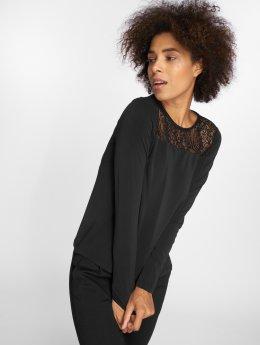 Vero Moda T-Shirt manches longues vmAlberta Lace noir