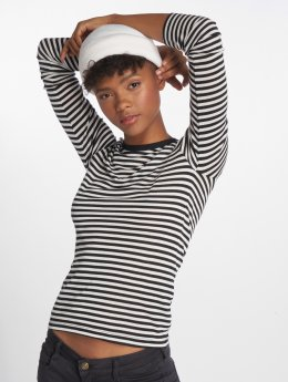 Vero Moda T-Shirt manches longues vmVita Stripe O-Neck Ls noir
