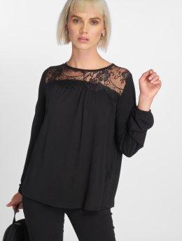 Vero Moda T-Shirt manches longues vmViona noir