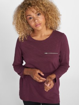 Vero Moda T-Shirt manches longues vmMalka pourpre