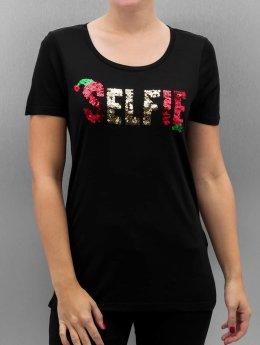 Vero Moda T-Shirt VmChristmas Sequin schwarz