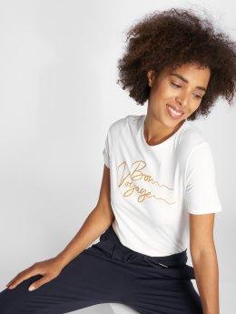 Vero Moda t-shirt vmValentina Midi wit