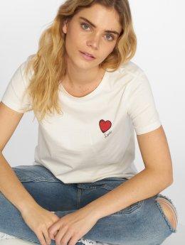 Vero Moda T-Shirty vmSally bialy