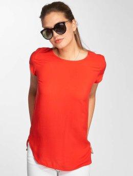 Vero Moda T-Shirty vmBoca czerwony