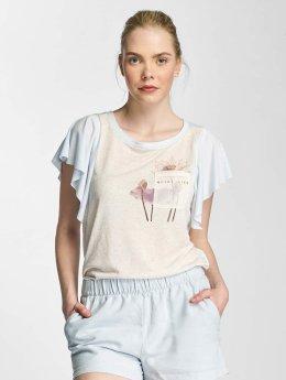Vero Moda T-Shirty vmLife  niebieski