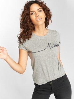 Vero Moda T-Shirty vmAnn Nature szary