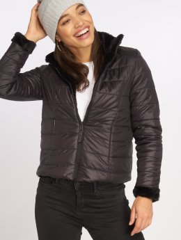 Vero Moda Transitional Jackets vmFluffy svart