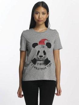 Vero Moda Tričká vmPanda šedá