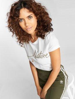 Vero Moda Tričká vmAnn Nature biela
