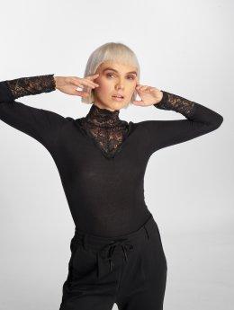 Vero Moda Tričká dlhý rukáv vmKiwi èierna