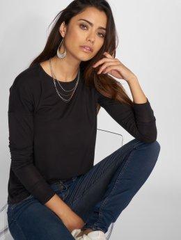 Vero Moda Tričká dlhý rukáv vmEdin èierna