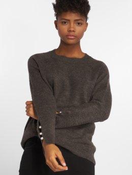 Vero Moda Tričká dlhý rukáv vmLagoura Pearl šedá