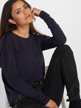 Vero Moda Tričká dlhý rukáv vmEdin modrá