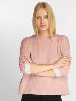 Vero Moda Tričká dlhý rukáv vmTrini ružová