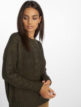 Vero Moda trui vmAlpine olijfgroen