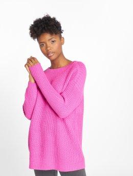 Vero Moda trui vmGlendora New Deep Back pink