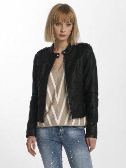 Vero Moda Veste & Blouson en cuir vmAlice noir