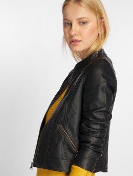 Vero Moda Veste mi-saison légère vmEurope Favo Faux Leather noir