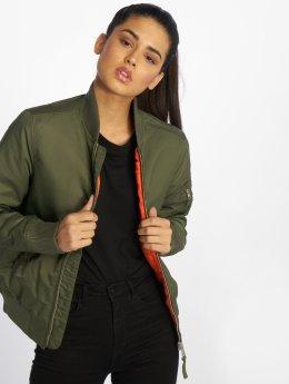 Vintage Industries Bomber jacket Liv olive