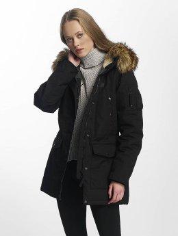 Vintage Industries Manteau hiver Hailey noir