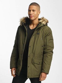 Vintage Industries Manteau hiver Circle olive
