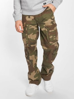 Vintage Industries Pantalon cargo Pack camouflage