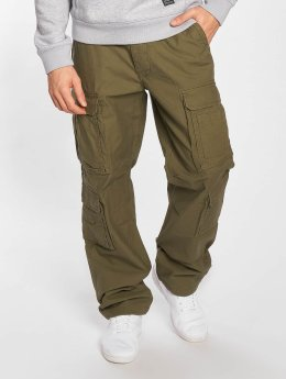 Vintage Industries Pantalon cargo Pack olive