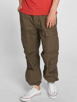 Vintage Industries Pantalone Cargo Pack cachi