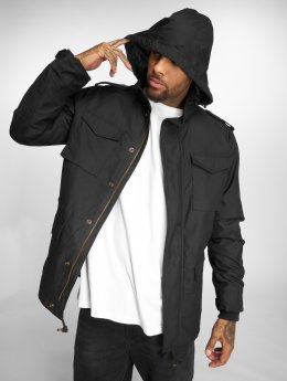 Vintage Industries Parka Capper noir